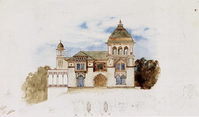 Olana-south-facade