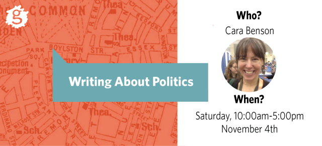 Writing About Politics Workshop
