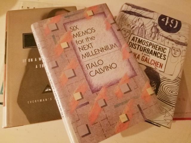 books, Italo Calvino, Rivka Galchen